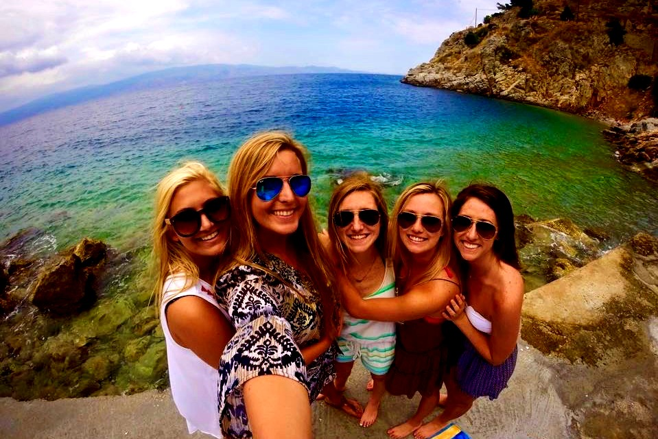 New friends in Greece