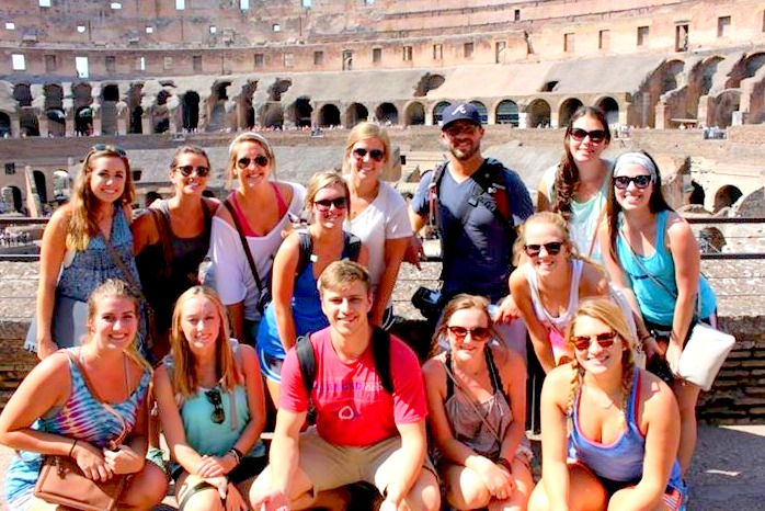 Group in Rome