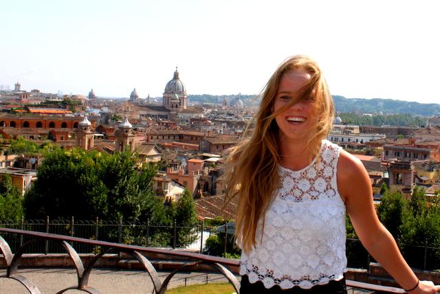 Shawna in Rome