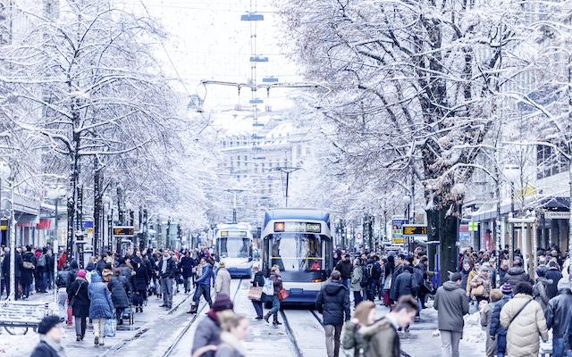 Zurich-in-Winter