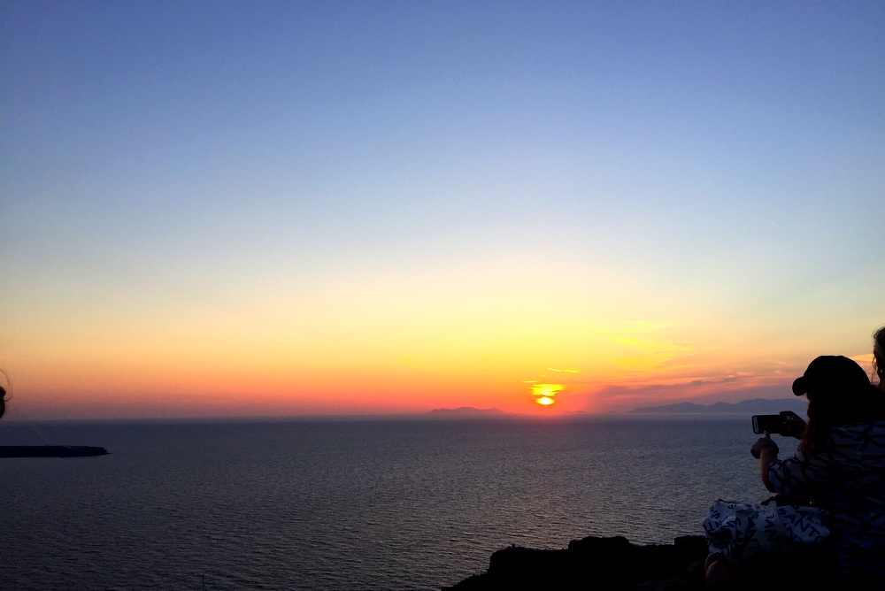 Sunset at Oia