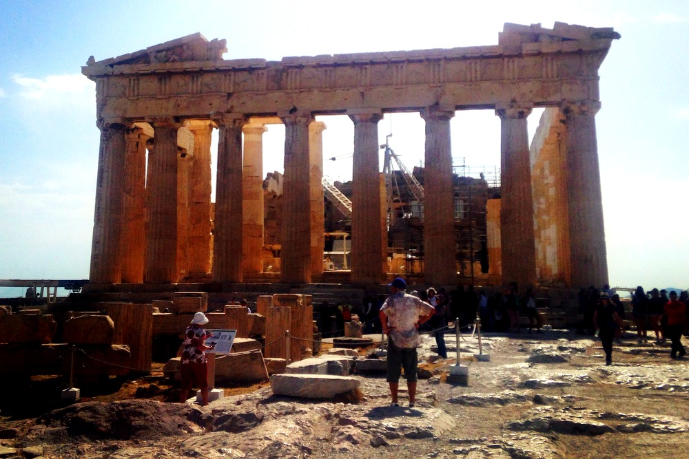 Ancient Greek ruins