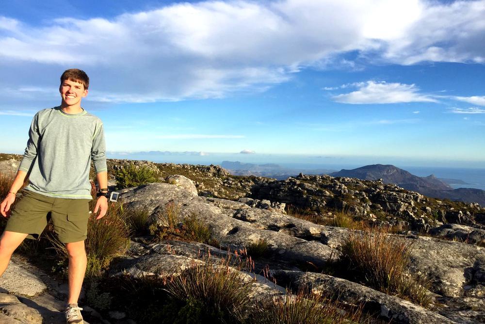 Matthew on Table Mountain