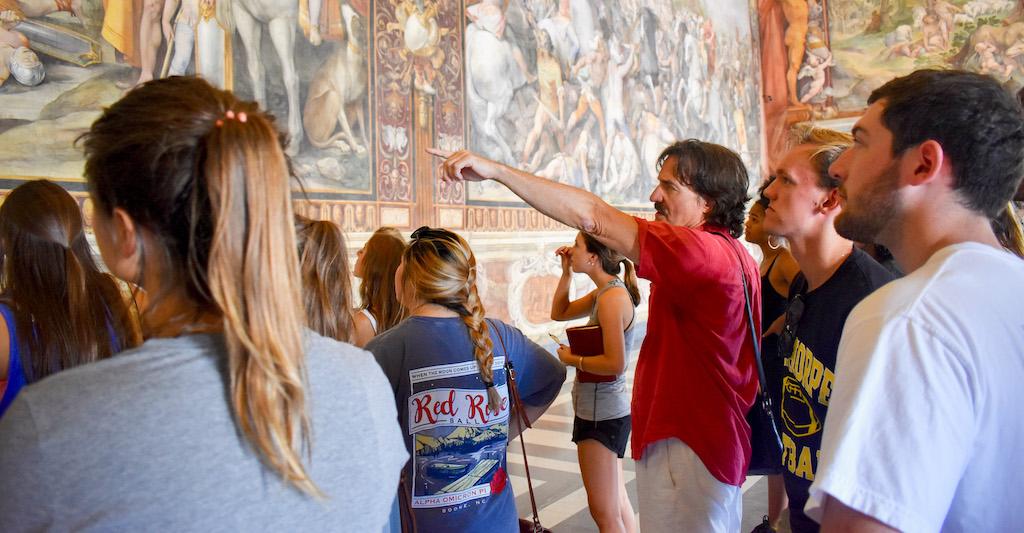 Collins teaching Rome