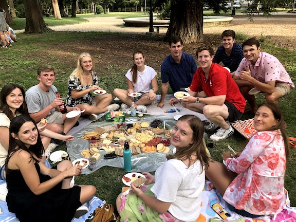 Rome picnic